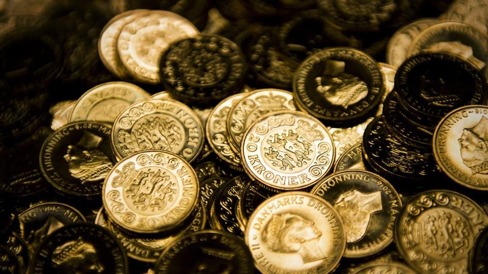 Hvis renten er højere end inflationen, og opsparingen får tid og fred, kan renters rente få din opsparing til at vokse næsten af sig selv. Foto: Scanpix/Ólafur Steinar Gestsson/arkiv