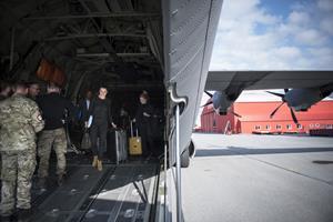 Forsvaret får lov at bruge lufthavn i Kangerlussuaq fremover