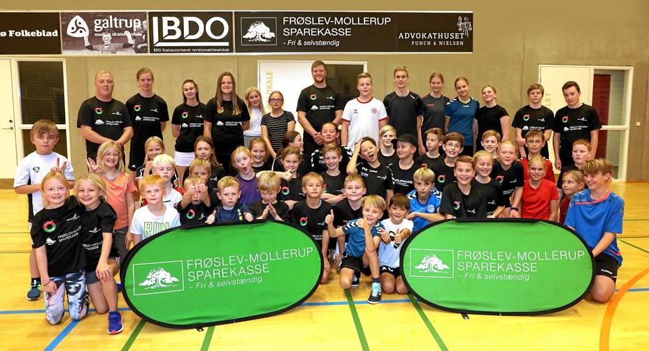 Frøslev-Mollerup Sparekasse støtter lokalsport