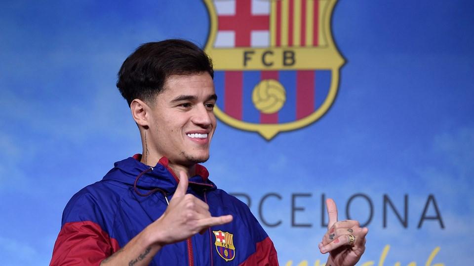 Philippe Coutinho kan ikke spille for FC Barcelona i de kommende uger på grund af en skade. Foto: Scanpix/Josep Lago