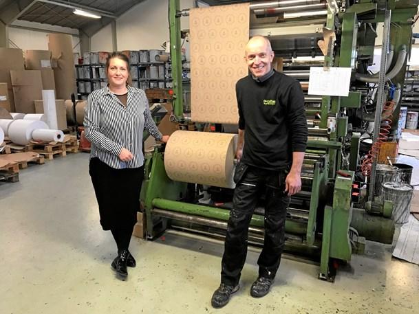 Hirtshals papir til byjubilæet produceret