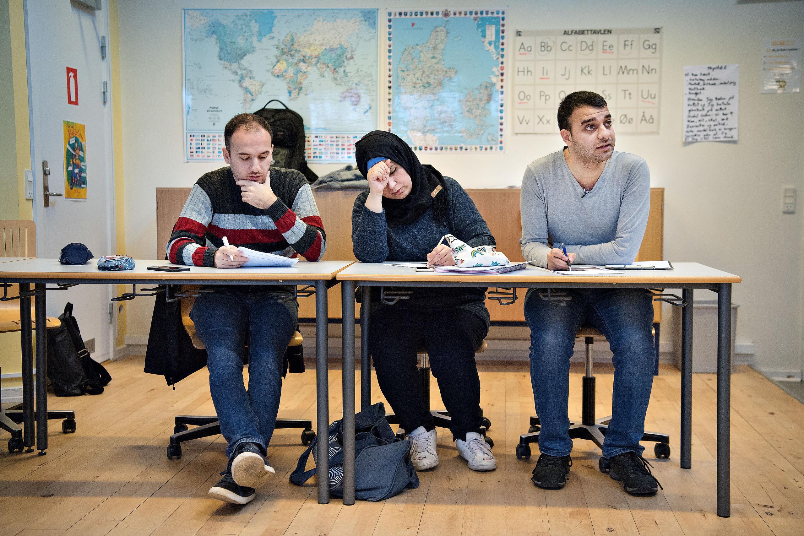 Er de dygtige nok? Fem venner fra Bagdad vil være læger i Nordjylland