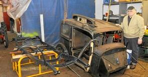 Åbningstræf, stumpemarked og Pastor Laiers bil