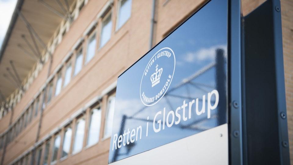 Ved Retten i Glostrup er det mandag blevet afgjort, hvordan en 32-årig skal straffes for at have været mellemleder i et kompleks om indsmugling af kokain og heroin. (Arkivfoto)
