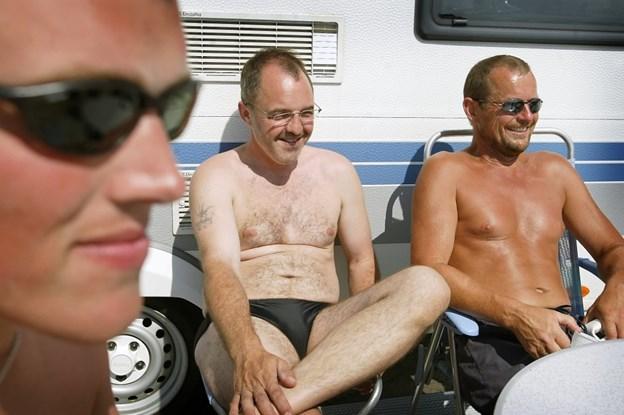 Svedigt: Så varmt kan det blive i dag