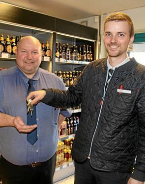 Ulrik er ny uddeler i Blokhus