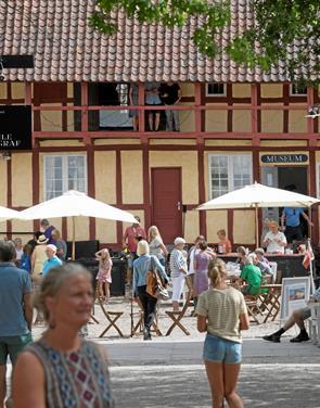 Mariager Museum gør sig klar til sommerfest