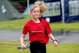 Se billederne: 11-årig gik 107 kilometer på et døgn