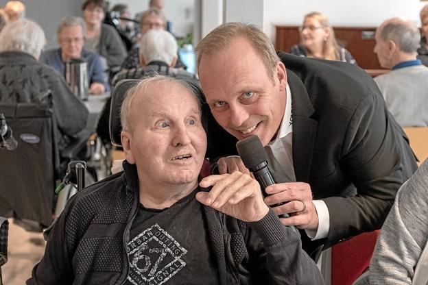 Hans Hansen, der er tidligere aktiv musiker, nyder Bo Youngs sange. Foto: Niels Helver Niels Helver