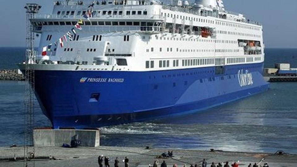 Det er slut med at tage Color Lines færge fra Hirtshals til Oslo.. Arkivfoto