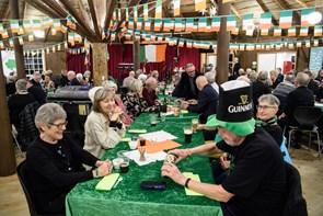 Irsk fejring i Den Runde