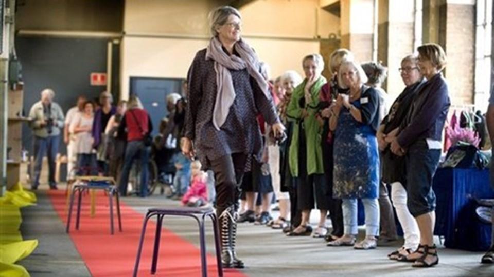 Kulturfestivalen bliver i Ginge-bygningen, selv om der var en del kritik i fjor. Arkivfoto: Bente Poder