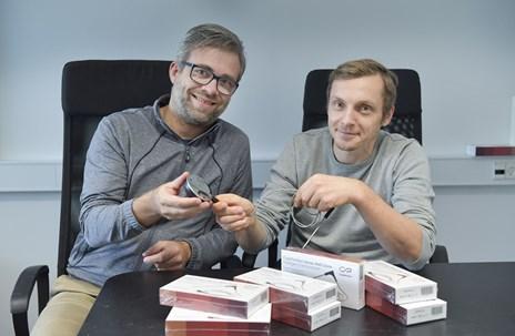 Nordjysk stege-termometer vinder indpas: Satser på at slå igennem i julehandlen