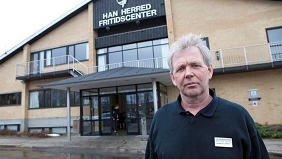 Torben Larsen er en meget tilfreds mand: Det her vil redde centrets økonomi. Arkivfoto: Erik Sahl