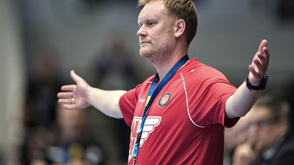 Kristian Kristensen skal fremover være assistenttræner i Ribe-Esbjerg.