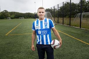 Fodboldtalent siger farvel til Thisted FC: Nu tager han til USA