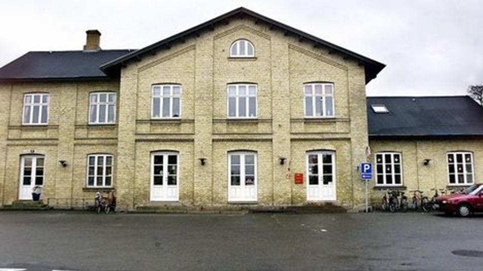 ARDEN STATION - hvis der indføres nærbane, skal det være med stoppested i Arden, mener byrådet. Arkivfoto: Claus Søndberg