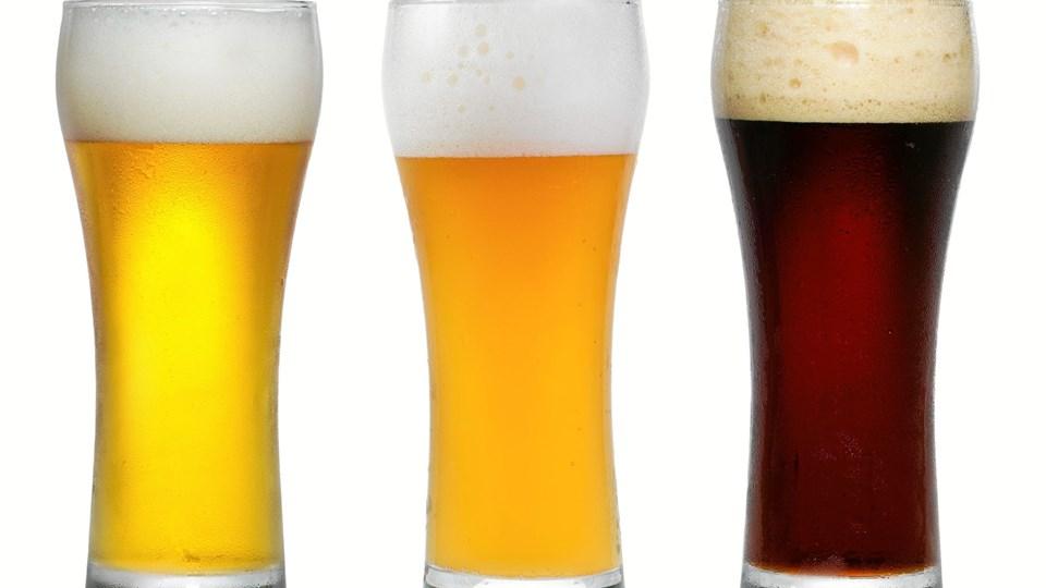 Der er store prisforskelle på øl i udlandet. Arkivfoto