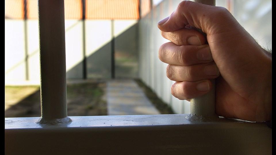 I tilfælde af en storkonflikt vil fængsler og arresthuse også blive ramt af lockout. Cirka 1000 overenskomstansatte risikerer at blive lockoutet. Foto: Scanpix/Ernst Van Norde