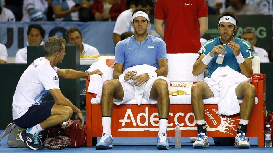 Great Britain v Argentina - Davis Cup Semi Final Foto: Reuters/Andrew Boyers