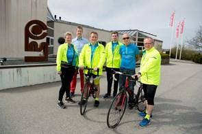 De cykler i en god sags tjeneste