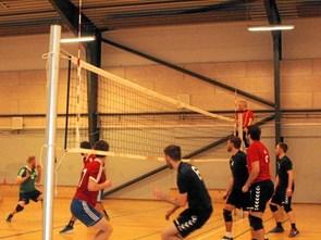 Kneben sejr i volleyball