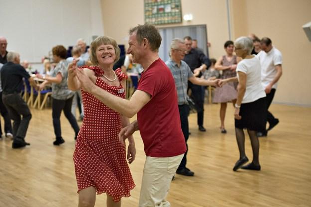 'Kom og Dans' fra Aabybro arrangerer gratis danseaften i Fjerritslev. Arkivfoto: Kurt Bering