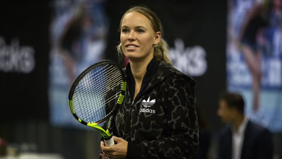 Tennisstjernen Caroline Wozniacki fik tirsdag en fremragende start på tennisåret i Auckland. Foto: /ritzau/Nanna Navntoft / Arkiv