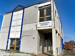 Færgeterminal væltes i Hanstholm