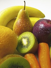 En krone for hver spist frugt går til velgørenhed