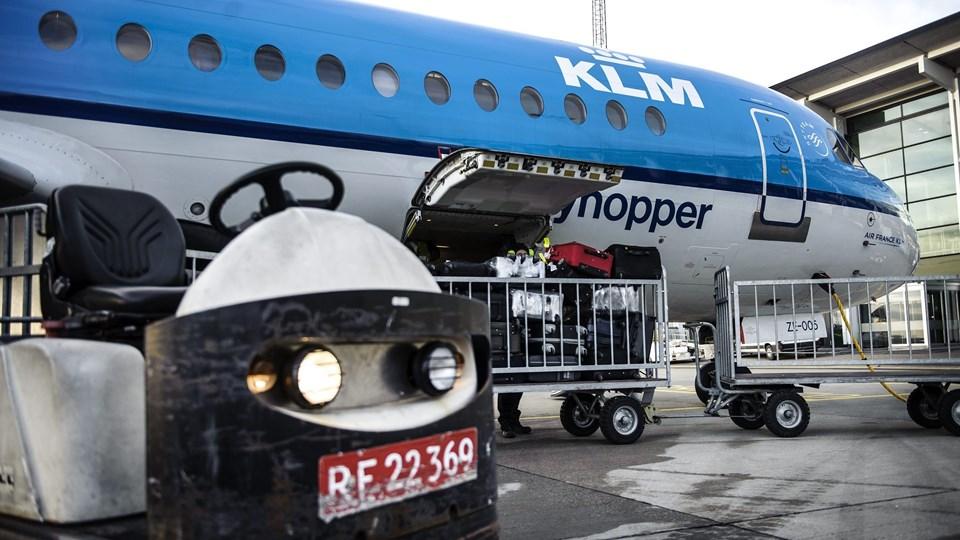 Rutetrafikken gik tilbage i Aalborg Lufthavn i april på grund af påsken.