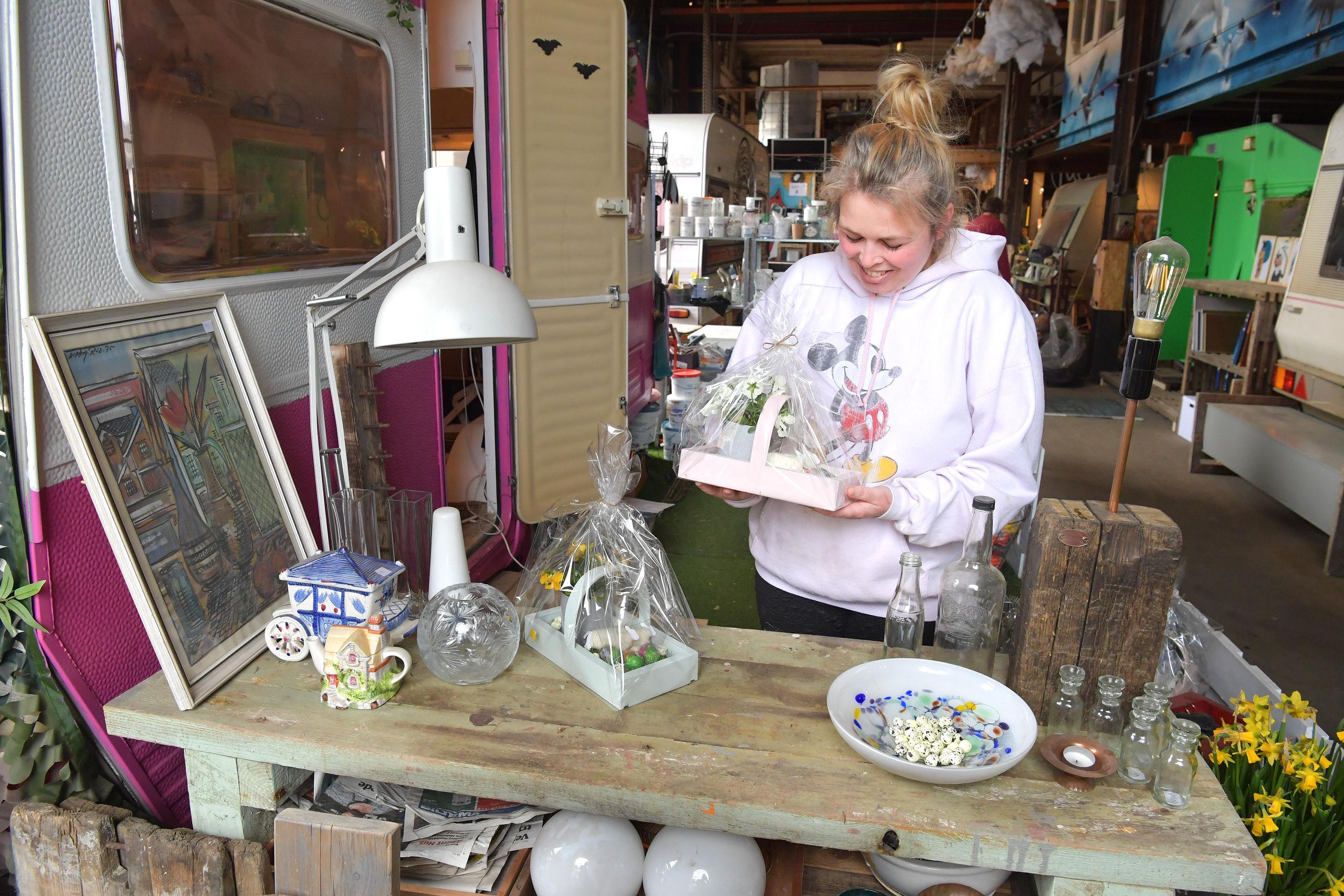 Tager forskud på påsken: Urban City holder marked og æggejagt