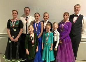Medaljer til øens dansere