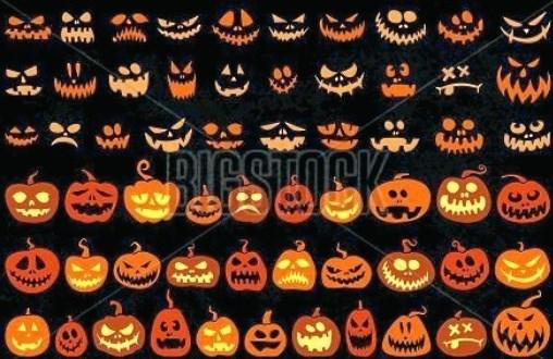 Halloween er alle sjæles aften - også de hvileløse sjæles. Privatfoto.