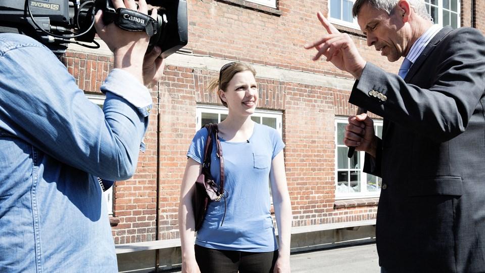 EP-valg Rina Ronja Kari stemmer Foto: /ritzau/Bidstrup Stine/arkiv