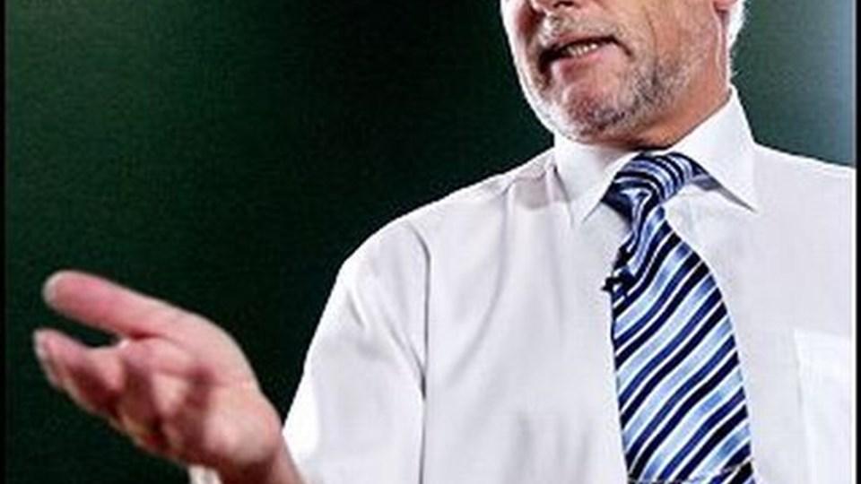 """Finansminister Thor Pedersen (V) finder det """"beklageligt"""", hvis befolkningen tror, at øget brugerbetaling er regeringens politik. Det er det ikke, siger han.  Foto: Linda Henriksen/Scanpix"""