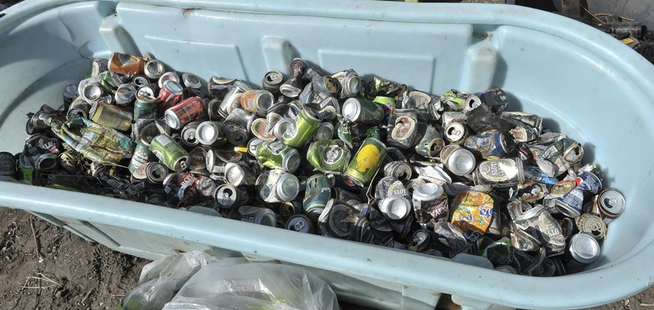 Så meget samlede vi ind til Affaldsindsamlingen