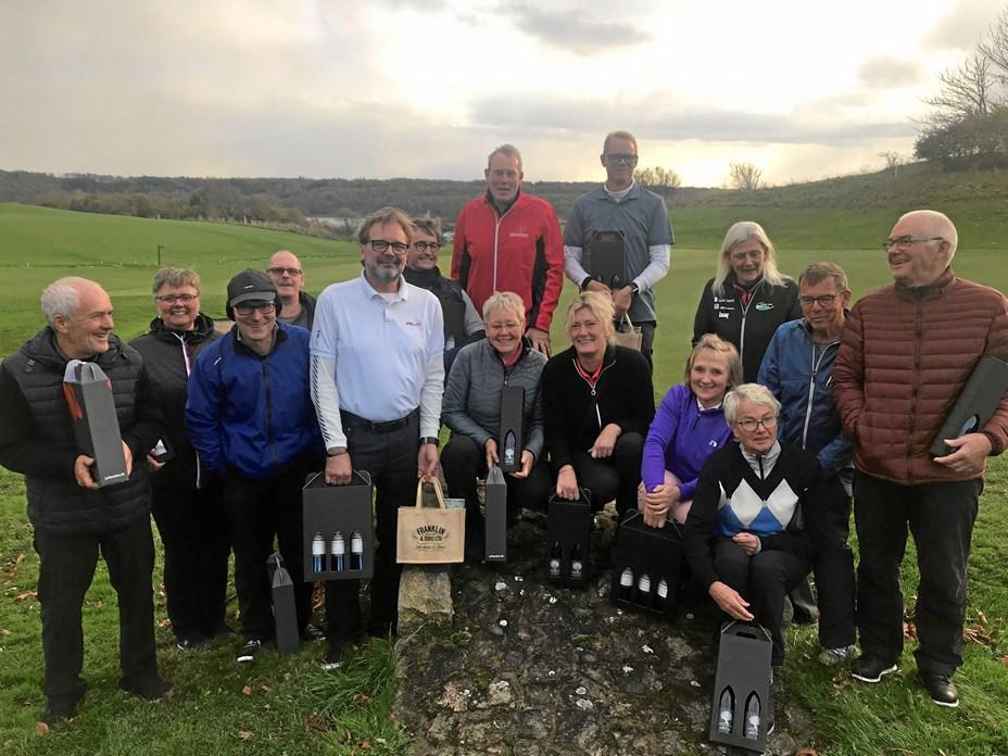 Årets sidste golfmatch i Hobro