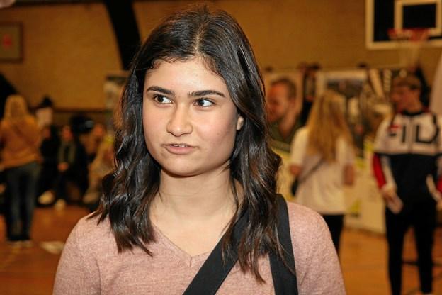 Sharmeen Moradi ser frem til at begynde på gymnasiet. Foto: Flemming Dahl Jensen