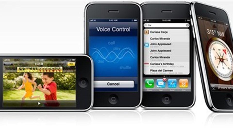 Der er ingen problem med at tage mobilen med til udlandet.  Arkivfoto