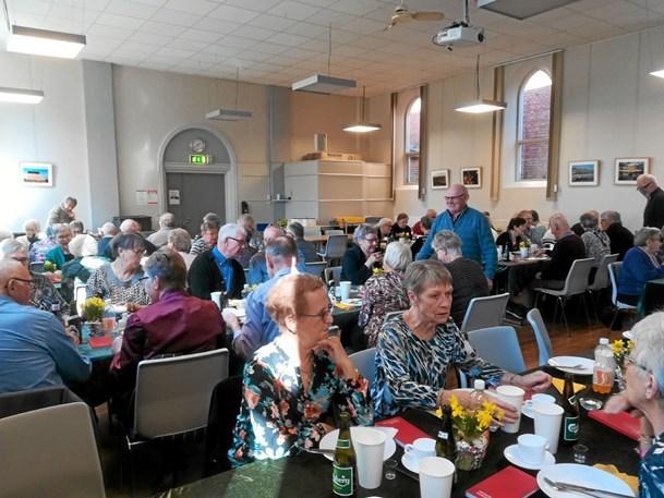 Danske Seniorer nød påskefrokost