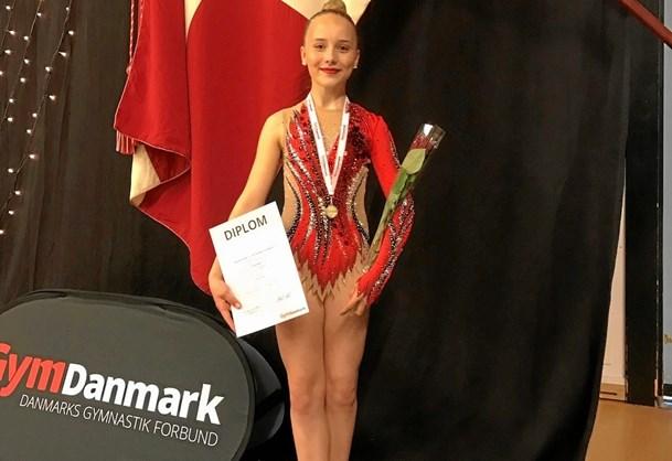 DM-guld til gymnast fra FG90