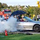 Sommerfest gik op i røg: Se de fede billeder fra burnout