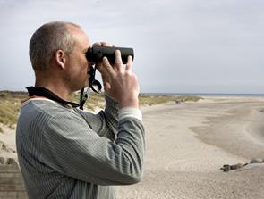 Sankthans-tur langs stranden