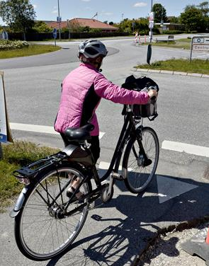 Flere cyklister skades i trafikken