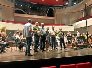 Symfoniorkester slår tonen an til Kornets Hus, når det åbner