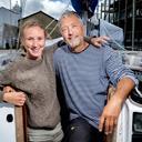 Far og datter har krydset Atlanten i sejlbåd: - Det er nogle storslåede ting, man oplever sammen