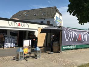 Vin & Vin inviterer til stort containersalg