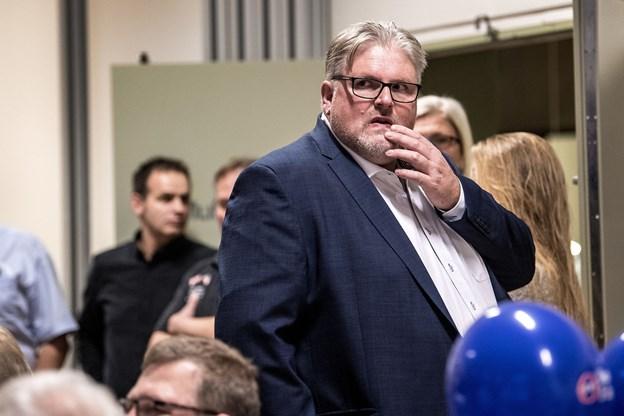 Kommunalvalgsoptælling i Hobro Idrætscenter ved Kommunalvalg 2017. Arkivfoto: Laura Guldhammer