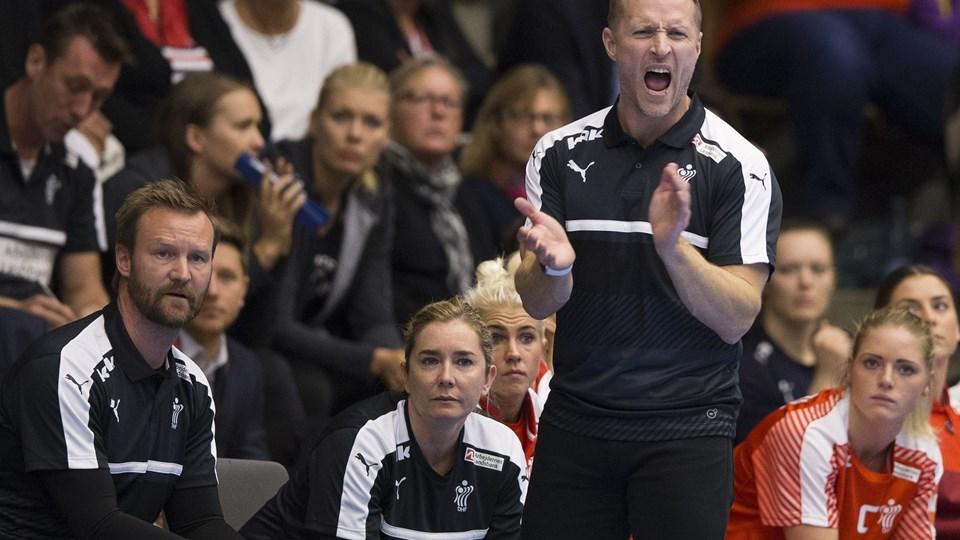 Golden League håndbold Danmark - Norge 9. oktober 2016 i Horsens Foto: Scanpix/Frank Cilius